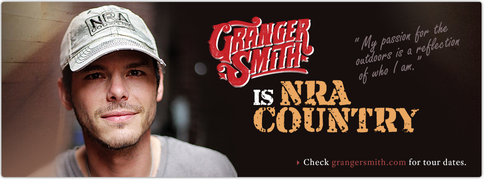 Granger Smith is NRA Country